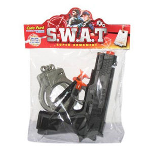 En71 Approval Plastic Police Set Toys Pistol Toy Gun for Boy (10217965) pictures & photos
