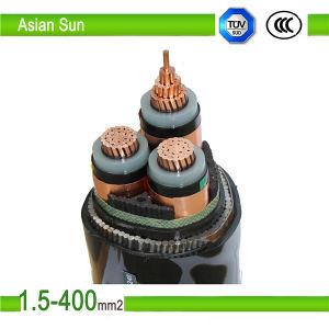 XLPE Cable 3 Cores Copper Conductor Maucfacturer pictures & photos