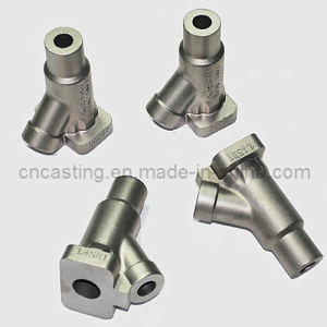 CNC Machining Valve Parts Made by Casting (YF-VP-015) pictures & photos