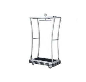 Hot Sale Stainless Steel Luggage Cart (DF83) pictures & photos