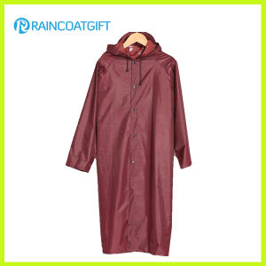 Polyester Waterproof Rain Jacket Rvc-104A pictures & photos