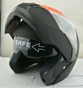DOT Dual Lens Flip up Motorcycle Helmet