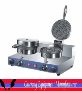 Double Plates Electric Waffle Maker (WXL-2) pictures & photos