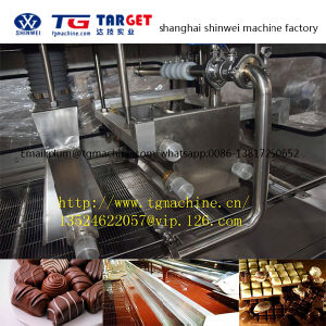 Qt Series Chocolate Enrobing Machine Line pictures & photos