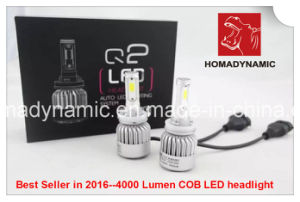 2016 Best Seller COB Q2 LED Headlight 8000lumen pictures & photos