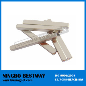 N35 Block Rod NdFeB Magnets with Ni Coating pictures & photos