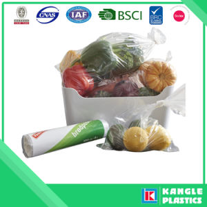 Food Grade HDPE LDPE Plastic Flat Bag on Roll pictures & photos