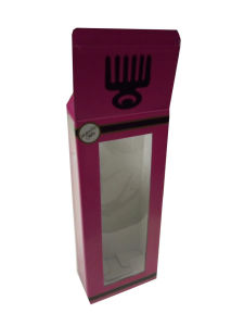 PVC Doll Packaging Box Corrugated Kraft Paper Box with Clear PVC Window pictures & photos