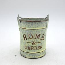 Cream Galvanized Pails for Garden pictures & photos