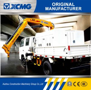 XCMG Sq2zk1 2ton Folding-Arm Truck Mounted Crane for Sale pictures & photos