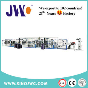 Full Servo Disposable Breast Pad Machine (JWC-RD-SV) pictures & photos