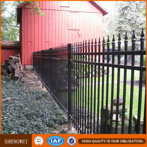 Commercial Steel Fence From Shengwei Fence Factory pictures & photos