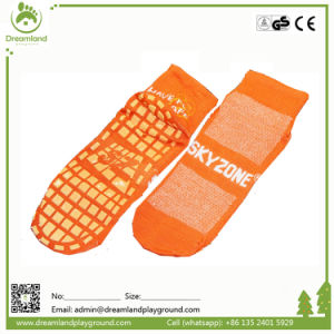 Design Your Own Playground Trampoline Jump Socks pictures & photos