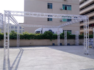 Rk Spigot Square Truss with Aluminum Stage System Stage Truss Rental pictures & photos