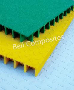 Fiberglass Reinforced Plastic Grating, FRP Lightweight Grating. pictures & photos