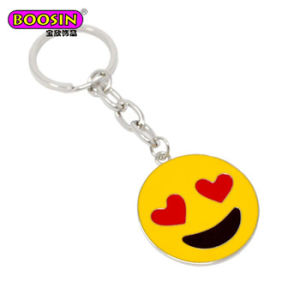 Hot Enamel I Love Papa/ Mom Customized Metal Letter Alphabet Keychain pictures & photos