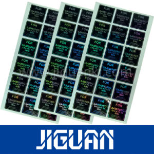 Laser Transparent Hologram Security Self Adhesive Label pictures & photos