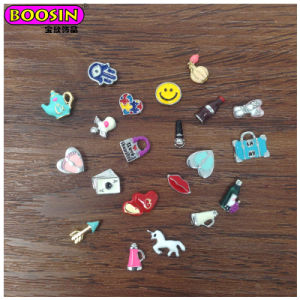 2018 New Fashion Stainless Steel Lockets DIY Charms for Phone Decoration pictures & photos