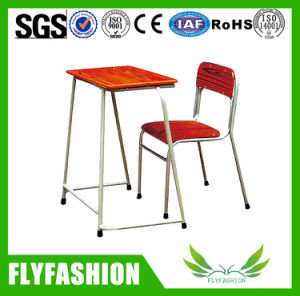 Fashion Simple Design School Furniture Student Desk and Chair (SF-28S) pictures & photos