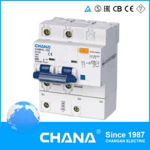 Camhl-100 Electronic Type RCBO (RCCB with Overcurrent Protection) pictures & photos