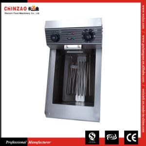 Deep Fat Fryer with Oil Tap Electric Deep Fryer Machine Dzl-18V pictures & photos