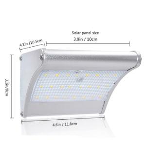 Solar Garden Light Wireless Security Outdoor 450 Lumen 4 in 1 Model 24 LED Solar Microwave Radar Motion Sensor Light pictures & photos