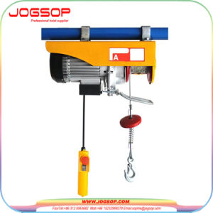 Hot Sale Mini Crane PA Electric Wire Rope Hoist with up and Down Limit Device Made in China pictures & photos