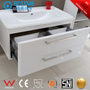 Modern Design Bathroom Cabinet with Side Cabinet (BY-X7089) pictures & photos