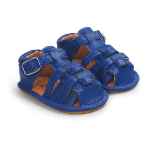 Baby Girls Boy Summer Sandals Soft Toddler First Walkers Shoes Moccasins pictures & photos