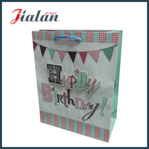 Fashion High End Custom Made Logo Paper Bag with Handle pictures & photos