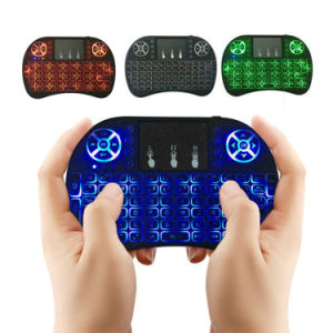 I8 Fly Air Mouse Remote Backlight 2.4GHz Wireless Keyboard Remote Control pictures & photos