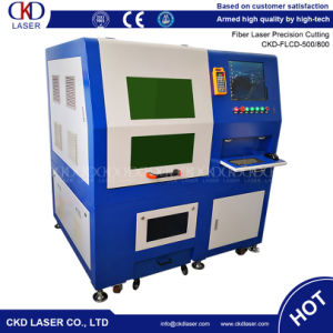CNC Metal Silver German Copper 500W Fiber Laser Cutting Machine pictures & photos