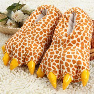 Soft Warm Winter Indoor Plush Slippers Anti-Slip pictures & photos