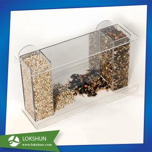 Cheap Acrylic Pet Bird Cage Box Feeder pictures & photos