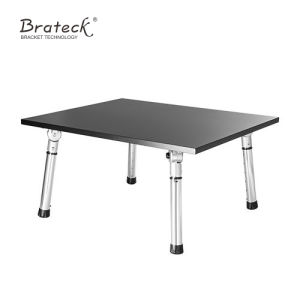 Foldable Small Standing Desk, Adjustable Stand up Small Foldable Work Table