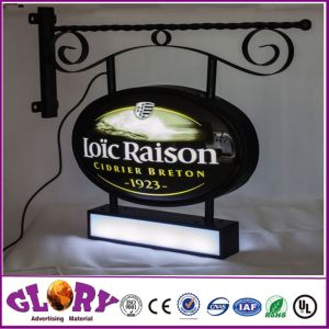 Acrylic Rectangle Thermoforming Light Box Signage pictures & photos