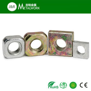 Stainless Carbon Steel Hex Square Thin Jam Nut (DIN439) pictures & photos