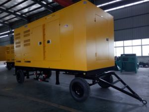 Top Selling! 30kw/37.5kVA Trailer Mobile Diesel Generator pictures & photos