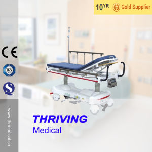 Hydraulic Rise-and-Fall Stretcher Cart(THR-303) pictures & photos
