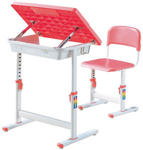 Modern Adjustable School Student Table and Chair for Sale (SF12S) pictures & photos