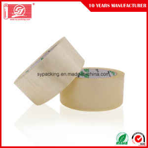 Carton Seal Tapes Water Based Acrylic Adhesive Clear BOPP Packing Tapes 120rolls in a Carton pictures & photos