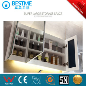 Modern Design Bathroom Cabinet with Mirror Cabinet by-X7090 pictures & photos