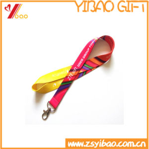 Hot Selling Colorful High Quality Polyester Heat Printing Logo Custom Lanyard (YB-HR-20) pictures & photos