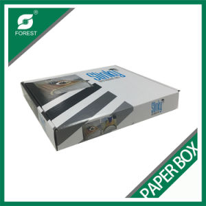 White Corrugated Box with Glossy Printing pictures & photos