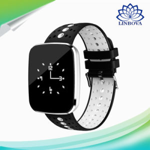 OLED V6 Bluetooth 4.0 Heart Rate Monitor Wrist Watch Smart Sports Bracelet pictures & photos