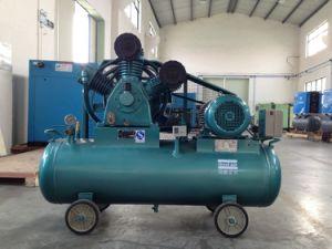 Portable Wheel Piston Compressor Belt Driven Air Compressor pictures & photos
