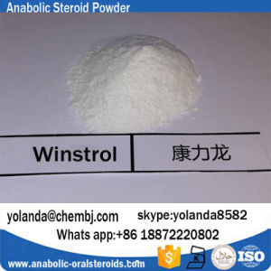 Anabolic Steroid Powder Stanozolols Winstrol CAS 10418-03-8 pictures & photos