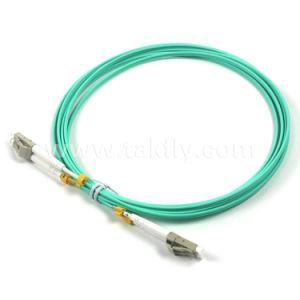 Om3 Duplex LC Fiber Optic Patch Cords/Om3 Fiber Optic Patch Cord pictures & photos
