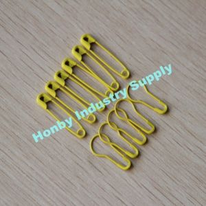 Yellow Safety Pin Decorative Pear Safety Pin for Wholesale