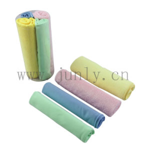 Color Microfiber Cleaning Cloth (JL-182) pictures & photos